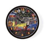 Boy Toy Classic Car Wall Clock