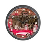Red Convertible Classic Wall Clock