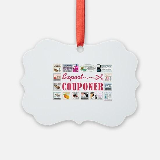 EXPERT COUPONER Ornament