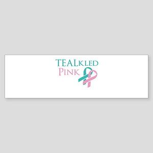 TEALkled Pink Sticker (Bumper)