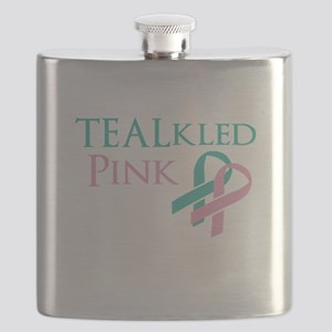 TEALkled Pink Flask