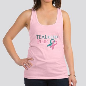 TEALkled Pink Racerback Tank Top