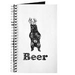 Vintage Beer Bear 1 Journal