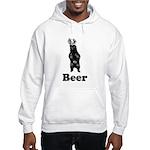 Vintage Beer Bear 1 Hooded Sweatshirt