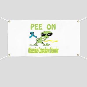 Pee on O.C.D. Banner