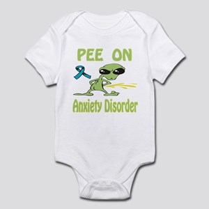 Pee on Anxiety Disorder Infant Bodysuit