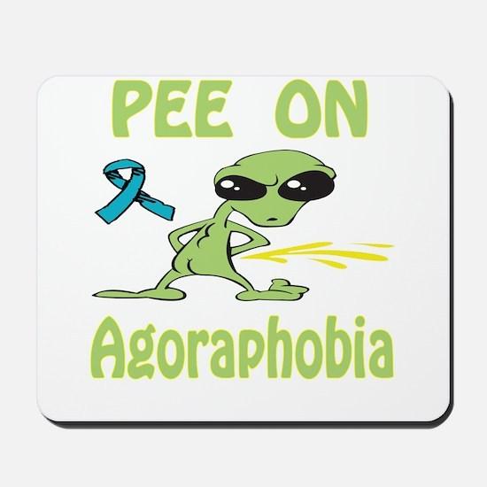 Pee on Agoraphobia Mousepad