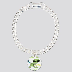 Pee on Agoraphobia Charm Bracelet, One Charm