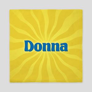Donna Sunburst Queen Duvet