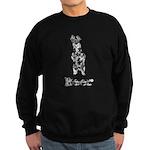Vintage Beer Bear 1a Sweatshirt (dark)