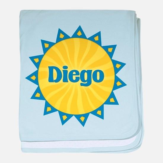 Diego Sunburst baby blanket