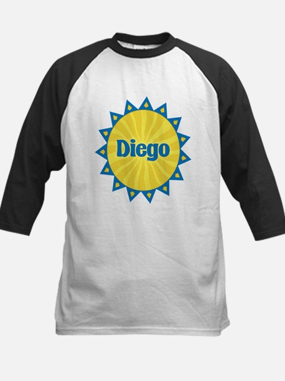 Diego Sunburst Kids Baseball Jersey