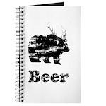 Vintage Beer Bear 2 Journal