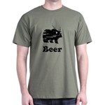 Vintage Beer Bear 2 Dark T-Shirt