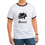 Vintage Beer Bear 2 Ringer T