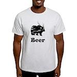 Vintage Beer Bear 2 Light T-Shirt