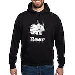 Vintage Beer Bear 2 Hoodie (dark)