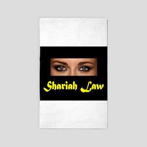 SHARIAH LAW 3'x5' Area Rug