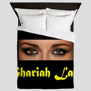 SHARIAH LAW Queen Duvet