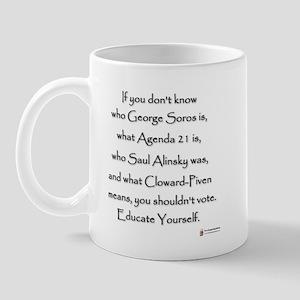 Educate Yourself Mug