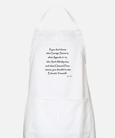 Educate Yourself Apron