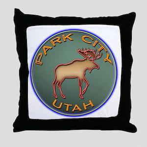 Park City Souvenir Throw Pillow