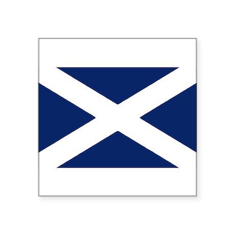 Scottish Flag Auto Decal / Sticker
