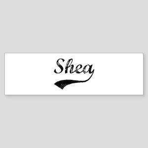 Vintage: Shea Bumper Sticker