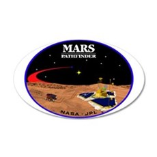 Mars Pathfinder Wall Decal