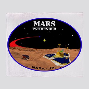 Mars Pathfinder Throw Blanket