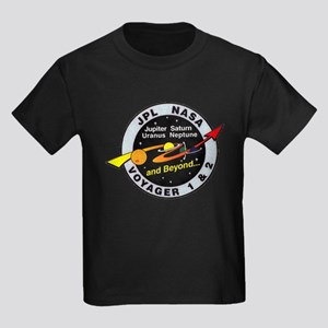 Voyager 1 & 2 Kids Dark T-Shirt