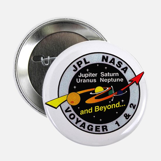 """Voyager 1 & 2 2.25"""" Button"""