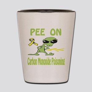 Pee on Carbon Monoxide Poisoning Shot Glass