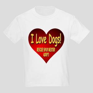 I Love Dogs! Rescue! Spay! Neuter! Adopt! Kids Lig