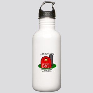 LIFE IS BETTER AT THE FARM Stainless Water Bottle