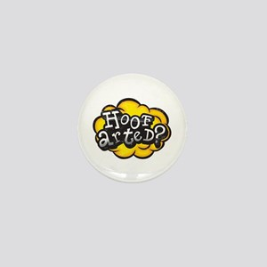 Hoof Arted? Mini Button