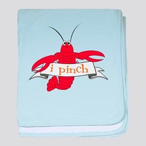 I Pinch baby blanket