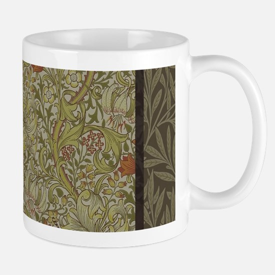 William Morris Floral lily willow art print d Mugs