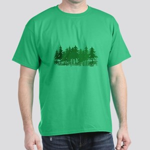 Trees/Grand Canyon Dark T-Shirt
