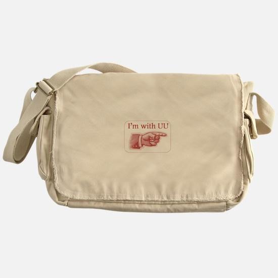 Im with UU Messenger Bag
