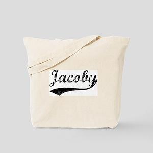 Vintage: Jacoby Tote Bag