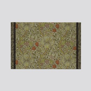 William Morris Floral lily willow art prin Magnets