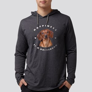 6-happiness Mens Hooded Shirt