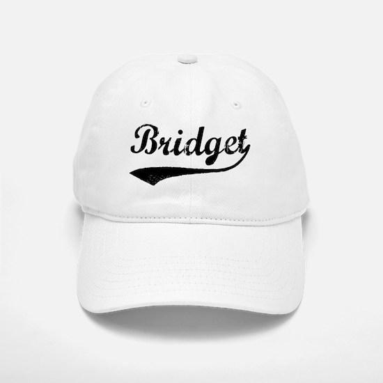 Vintage: Bridget Baseball Baseball Cap