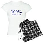 100% Pro life Women's Light Pajamas