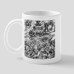 Four Avenging Angels Durer 14 Mug