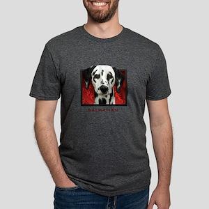 18-redblock Mens Tri-blend T-Shirt