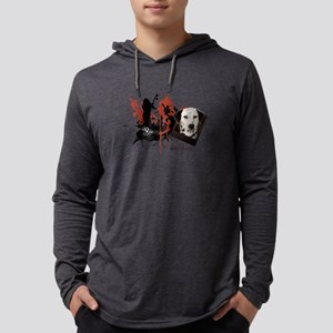 2-dalmation Mens Hooded Shirt