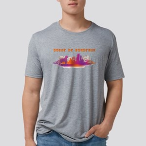 25-citydog Mens Tri-blend T-Shirt