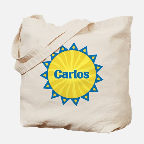 Carlos Sunburst Tote Bag
